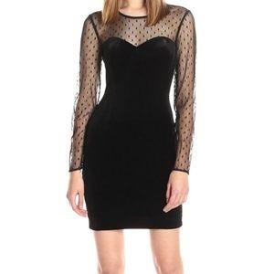 Guess velvet dress